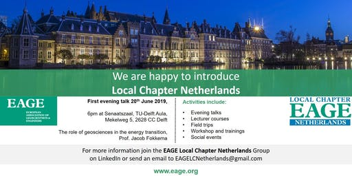 Opening Event of the EAGE - LOCAL CHAPTER NETHERLANDS