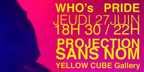 Vernissage / WHO's PRIDE billets
