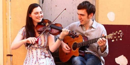 ZOË CONWAY (fiddle) & JOHN Mc INTYRE (guitar)