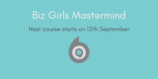 Biz Girls Mastermind Group September Start
