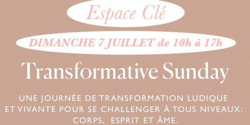TRANSFORMATIVE SUNDAY N°6 Montpellier: VIVRE SES ENVIES POUR RESTER EN VIE!