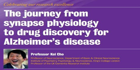 The journey from synapse physiology to drug discovery for Alzheimer's disease tickets