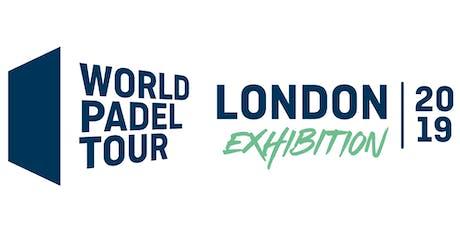 World Padel Tour - London Exhibition 2019 tickets