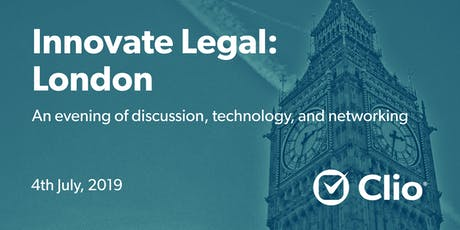 Innovate Legal: London tickets