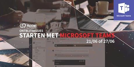 Microsoft Teams: Hoe start ik met Teams voor mijn bedrijf? | Ontbijtsessies tickets