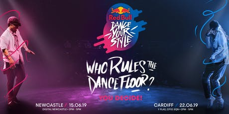 Red Bull Dance Your Style - Regional Qualifier Cardiff (18+) tickets