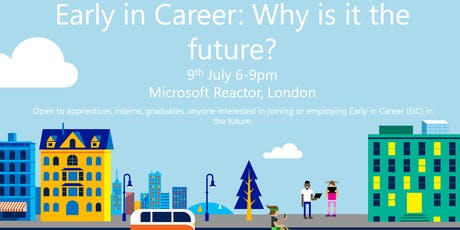 Early in Career - why is it the future? tickets