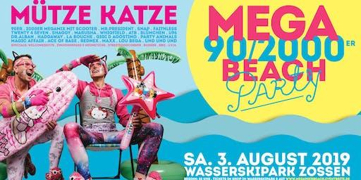 Mega 90/2000er Beachparty w. Mütze Katze DJ-Team