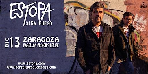 ESTOPA presenta GIRA FUEGO en Zaragoza