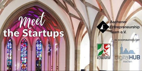 Meet the Startups AC.E & digitalHUB Aachen billets