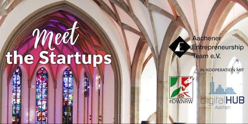 Meet the Startups AC.E & digitalHUB Aachen