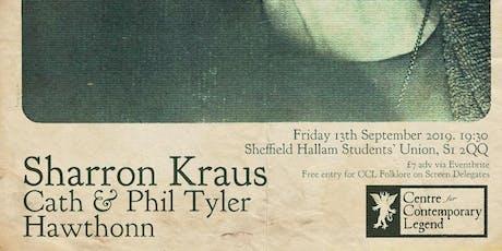 HFC & CCL present: Sharron Kraus, Cath & Phil Tyler + Hawthonn tickets