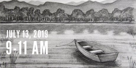 Drawing Class: Rowboat on a Lake tickets