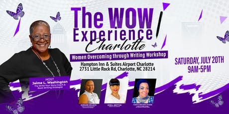 The WOW Experience Charlotte: Women Overcoming through Writing Workshop tickets