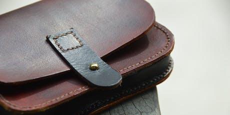 Cwrs: Cyflwyniad i Waith Lledr | Course: Intro to Leatherwork tickets