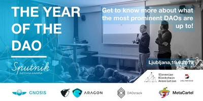 The year of the DAO
