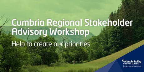 Electricity North West Regional Advisory workshop - Cumbria tickets