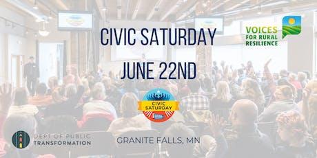 Civic Saturday Granite Falls tickets