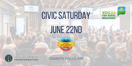 Civic Saturday Granite Falls