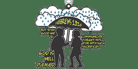 2019 God Is Well Pleased 1 Mile, 5K, 10K, 13.1, 26.2 - Wichita tickets