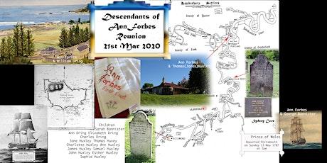 Ann Forbes Descendants Reunion 2022 tickets
