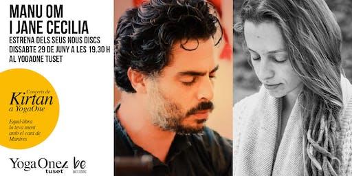 Concierto presentación discos Manu Om y Jane Cecilia