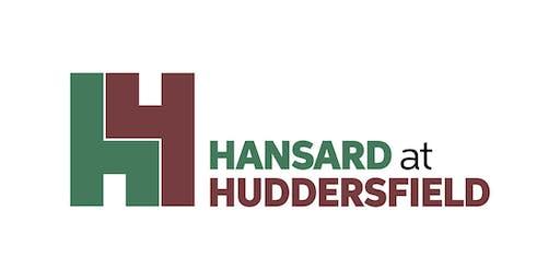 Introduction to Hansard at Huddersfield