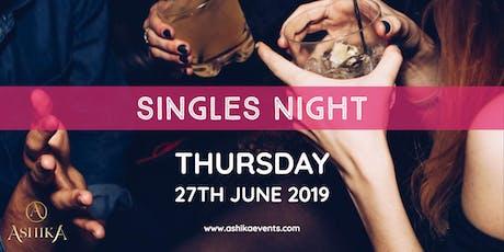 Singles Night - 28 - 55's - Newcastle tickets