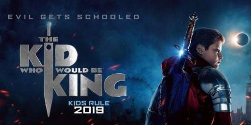 The Kid Who Would Be King (+ Pizza!)