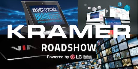 KRAMER Roadshow Kungsbacka 9 september 2019 tickets