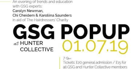 GSG Pop-up tickets