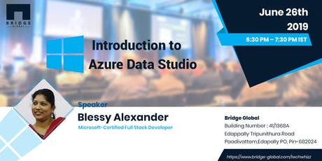 A Quick Kick-Off Into Azure Data Studio tickets
