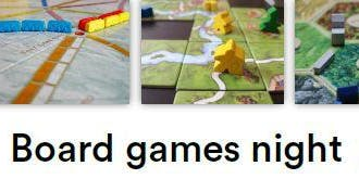 Board Games Night - We R here Fundraiser