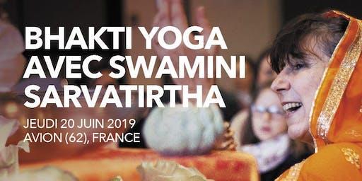 Bhakti Yoga avec Swamini Sarvathirta - Puja et Soirée OM Chanting