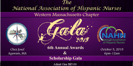 National Association of Hispanic Nurses  Annual Awards and Scholarship Gala tickets