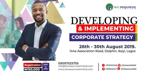 Developing and Implementing Corporate Strategy tickets