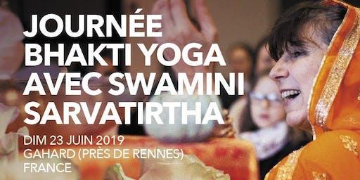 Bhakti Yoga avec Swamini Sarvathirta - Cérémonie de purification, Marche méditative