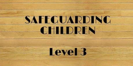 Safeguarding Children training Level 3 tickets