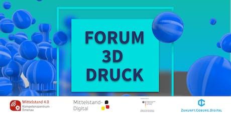 Forum 3D-Druck tickets