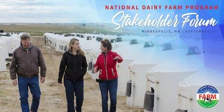 National Dairy FARM Program Stakeholder Forum tickets