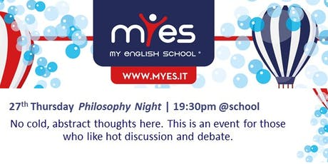 Philosophy Night tickets