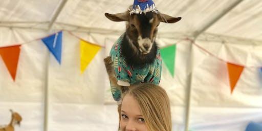 Goat Yoga Nashville- 4th of July Celebration