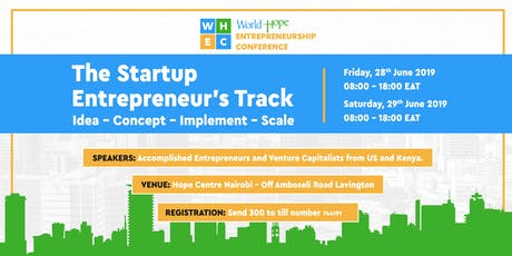 World Hope Entrepreneurship Conference 2019 – WHEC19 tickets