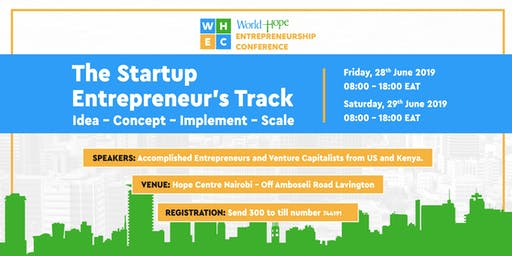 World Hope Entrepreneurship Conference 2019 – WHEC19
