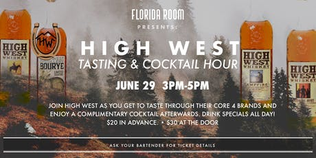 High West Tasting & Cocktail Hour tickets