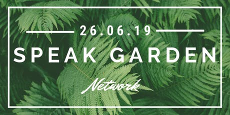 Speak Garden: An evening about Network billets