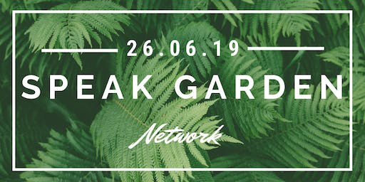 Speak Garden: An evening about Network
