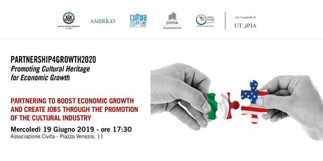 Promoting Cultural Heritage for Economic Growth biglietti