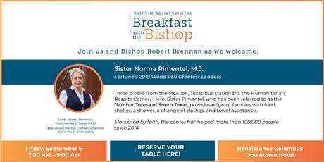 Breakfast with the Bishop tickets