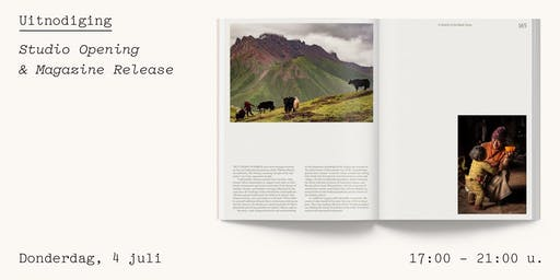 Studio Opening & Magazine Release